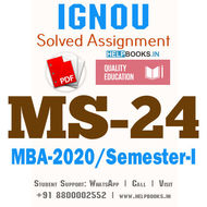 MS24-IGNOU MBA Solved Assignment 2020/Semester-I (Industrial Relations)