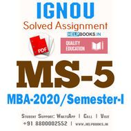 MS5-IGNOU MBA Solved Assignment 2020/Semester-I (Management of Machines and Materials)