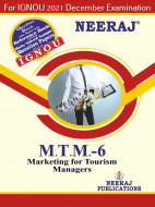 MTTM6, Marketing for Tourism Managers (English Medium), IGNOU Master of Tourism and Travel Management (MTTM) Neeraj Publications | Guide for MTTM-6 for December 2021 Exams with Sample Papers