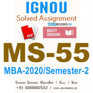 MS55-IGNOU MBA Solved Assignment 2020/Semester-II (Logistics and Supply Chain Management)