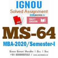 MS64-IGNOU MBA Solved Assignment 2020/Semester-I (International Marketing)