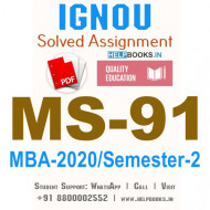MS91-IGNOU MBA Solved Assignment 2020/Semester-II (Advanced Strategic Management)
