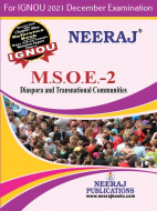 MSOE2, Diaspora and Transnational Communities (English Medium), IGNOU Master of Arts (Sociology)(MSO) Neeraj Publications | Guide for MSOE-2 for December 2021 Exams with Sample Papers