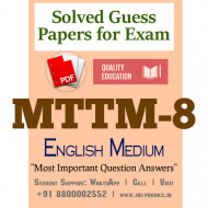 MTTM8 IGNOU Solved Sample Papers/Most Important Questions Answers for Exam