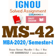 MS42-IGNOU MBA Solved Assignment 2020/Semester-I (Capital Investment and Financing Decisions)