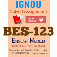 Download BES123-IGNOU B.ed IGNOU Solved Assignment 2020-2021 ( Learning and Teaching) (English Medium)