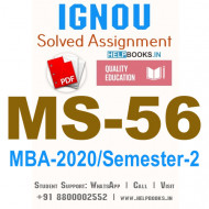 MS56-IGNOU MBA Solved Assignment 2020/Semester-II (Materials Management)