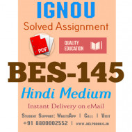 Download BES145-IGNOU B.ed Solved Assignment 2020-2021 (Pedagogy of Hindi) (Hindi Medium)