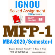 MFP1-IGNOU MBA Solved Assignment 2020/Semester-I (Equity Markets)