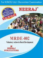 MRDE2, Voluntary Action in Rural Development (English Medium), IGNOU Master of Arts (Rural Development) (MARD) Neeraj Publications | Guide for MRDE-2 for December 2021 Exams with Sample Papers