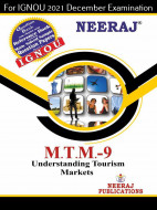 MTTM9, Understanding Tourism Markets (English Medium), IGNOU Master of Tourism and Travel Management (MTTM) Neeraj Publications | Guide for MTTM-9 for December 2021 Exams with Sample Papers