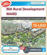 IGNOU MA Rural Development Solved Assignments-MRD/MRDE | e-Assignment Copy | 2020-21