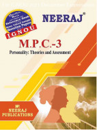MPC3, Personality: Theories and Assessment (English Medium), IGNOU Master of Arts (Psychology)(MAPC) Neeraj Publications | Guide for MPC-3 for December 2021 Exams with Sample Papers