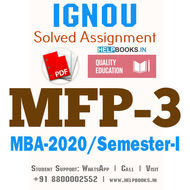 MFP3-IGNOU MBA Solved Assignment 2020/Semester-I (Commodity Markets)