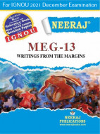 MEG13, Writing from the Margins (English Medium), IGNOU Master of Arts (English)(MEG) Neeraj Publications | Guide for MEG-13 for December 2021 Exams with Sample Papers