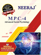 MPC4, Advanced Social Psychology (English Medium), IGNOU Master of Arts (Psychology)(MAPC) Neeraj Publications | Guide for MPC-4 for December 2021 Exams with Sample Papers