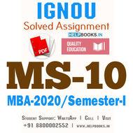 MS10-IGNOU MBA Solved Assignment 2020/Semester-I (Organisational Design, Development & Change)