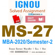 MS27-IGNOU MBA Solved Assignment 2020/Semester-II (Compensation and Rewards Management)