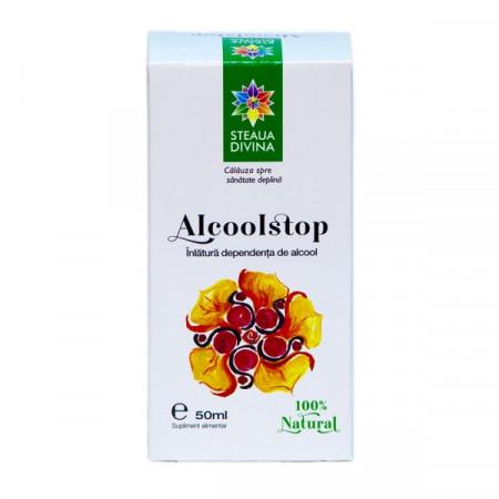 STEAUA DIVINA ALCOOLSTOP TINCTURA 50ML