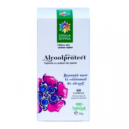 STEAUA DIVINA ALCOOLPROTECT CAPSULE 60CPS