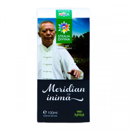 STEAUA DIVINA MERIDIAN INIMA TINCTURA 100ML