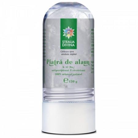 STEAUA DIVINA DEODORANT PIATRA DE ALAUN 120G