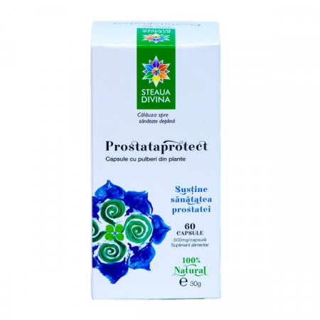 STEAUA DIVINA PROSTATAPROTECT 60CPS