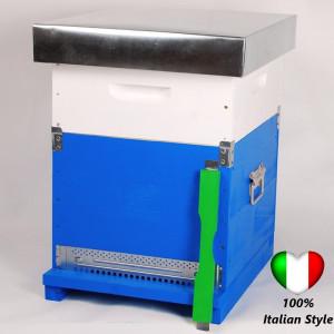 OFERTA SPECIALA - Stupul CUBOBOX 10 rame COMPLET (Magazie 1/2, 20 rame insarmate,hranitor, gratie hanneman)