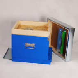 Stupul CUBOBOX, cuib 10 rame 1/1, podisor , fund antivarroa, capac