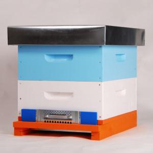 OFERTA SPECIALA - Stupul MER COMPLET ( 2xmagazie 1/2, 20 rame insarmate, hranitor, gratie hanemann)