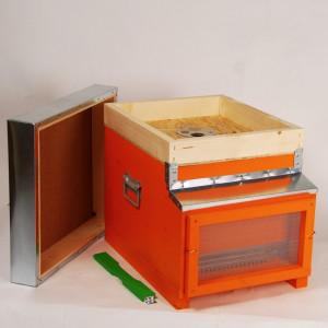 Stup NOMADISMO, cuib 10 rame 1/1, capac,fund antivarroa, podisor