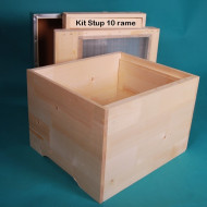 Kit Stup 10 rame Cubobox - nemontat