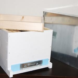 Stupul CUBOBOX fund PLIN , cuib 10 rame 1/1, podisor ,
