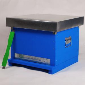 Stup Stationar, cuib 12 rame 1/1, fund antivarroa, capac