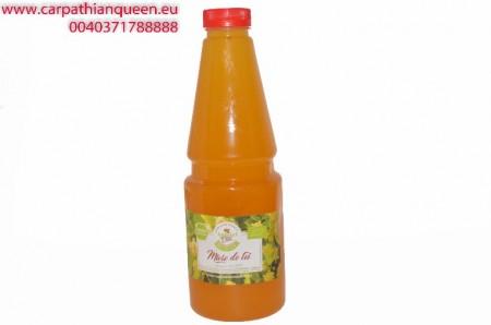 RAW Linden Honey 1400 gr Organic honey images