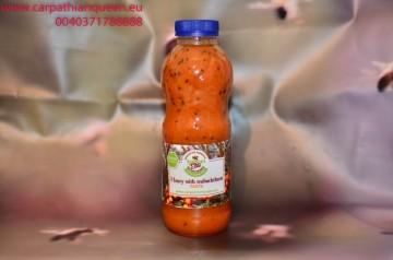 Honey with seabuckthorn PASTE 700 gr