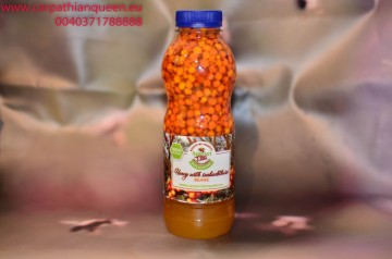 Honey with seabuckthorn BEANS 700 gr images