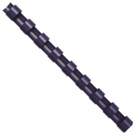 Inele din plastic pentru indosariere 14 / 16 / 19 mm, negre, 100buc