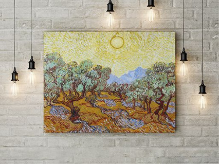 Peisaj Pictura Van Gogh