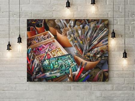 Tablou Canvas Being an Artist