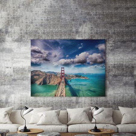 Tablou Canvas Bridge and contrast