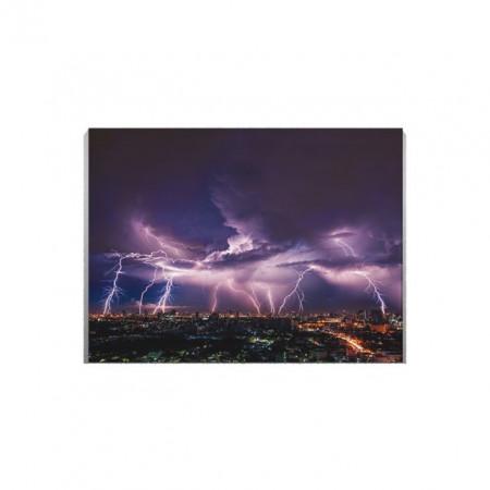 Tablou Canvas Furtuna Deasupra Orasului