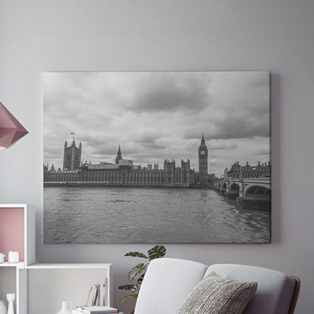 Tablou Canvas Grey London