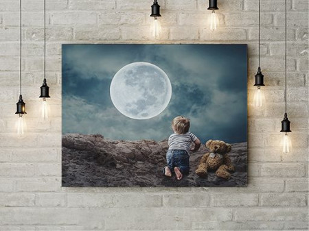 Tablou Canvas Magia Lunii
