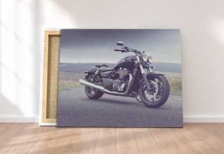 Tablou canvas - Moto