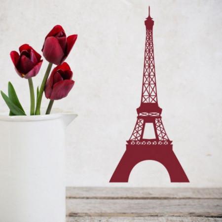 Sticker Paris Landmark Eiffel Tower
