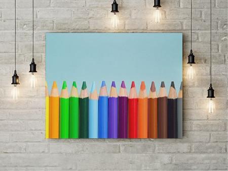 Tablou Canvas Creioane In Linie
