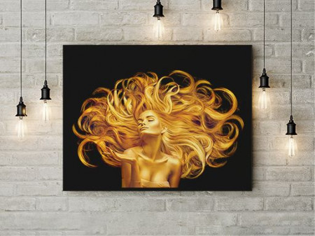 Tablou Canvas Golden Fantasy