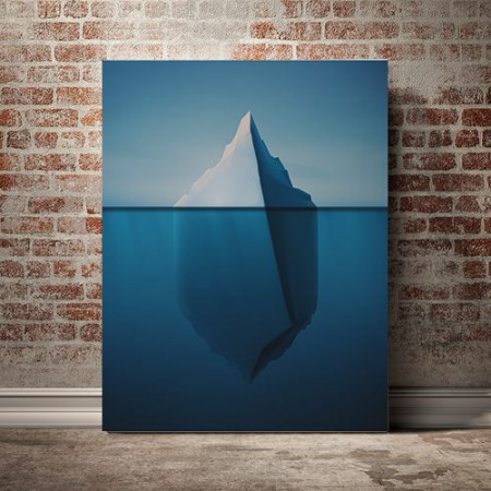Tablou Canvas Iceberg