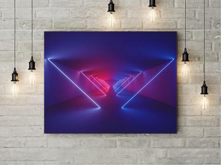 Tablou Canvas Neon Lights